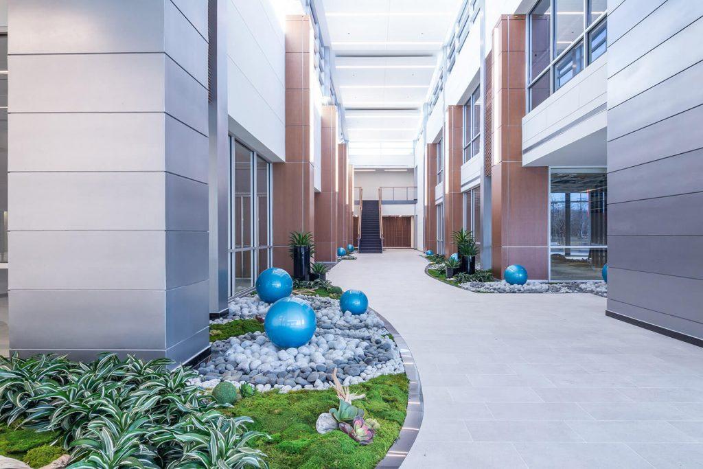 Building exterior view
